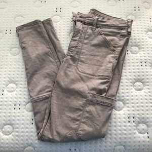 American Eagle grey jegging size 8